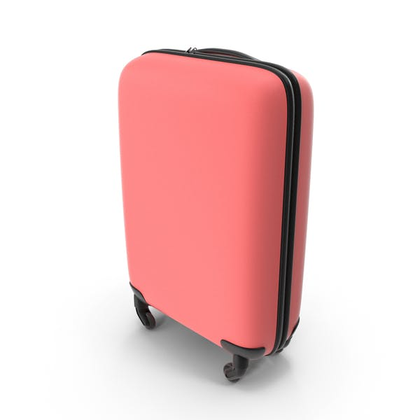 Red Travel Suitcase