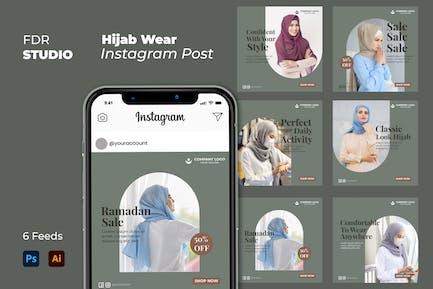 Hijab Wear Instagram Post