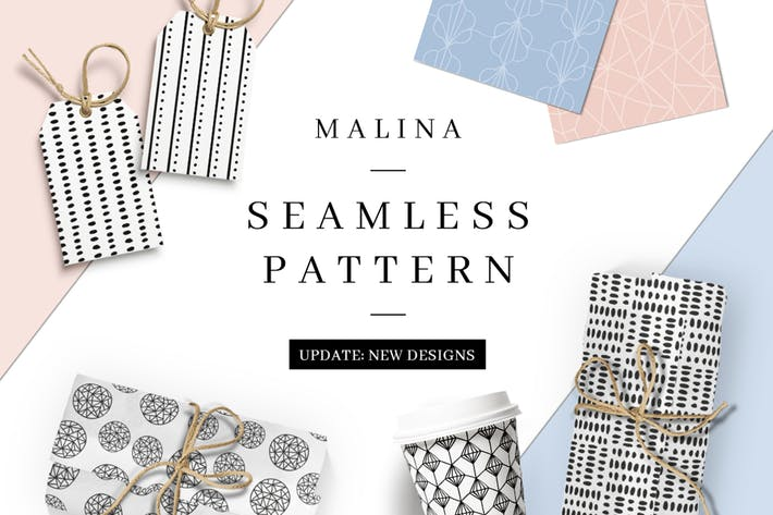 Thumbnail for MALINA 36 Seamless Pattern