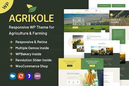 Agrikole | WordPress Theme for Agriculture Farms