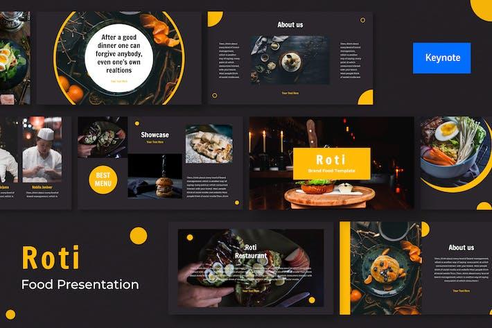 Thumbnail for Roti Presentation Template Keynote