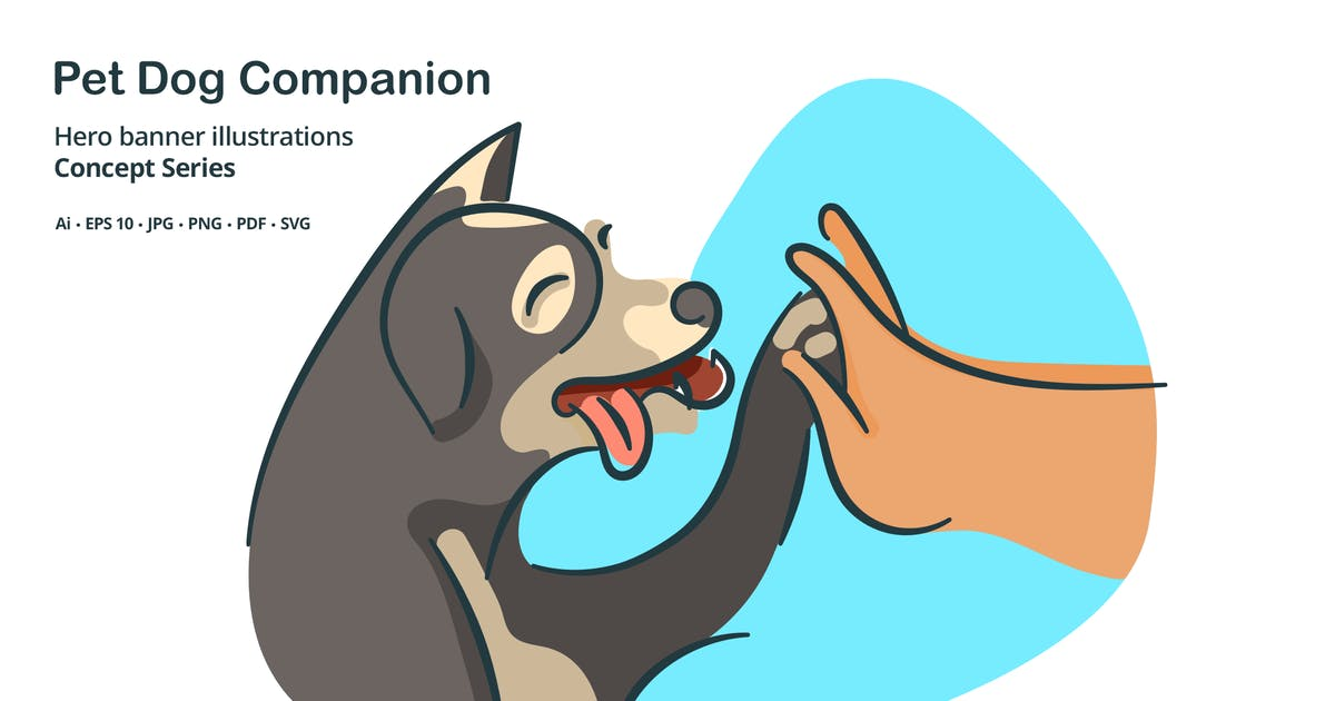 Download Pet Dog Vector Illustration by roundicons