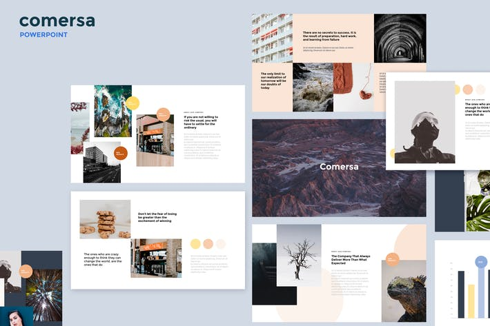 Thumbnail for Comersa - Multipurpose Powerpoint Template