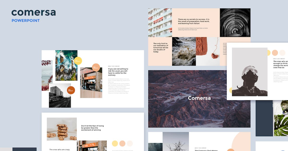 Download Comersa - Multipurpose Powerpoint Template by Slidehack