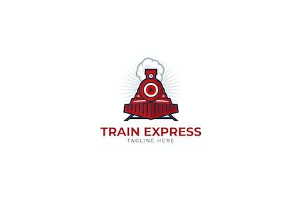 Train Express Logo Template