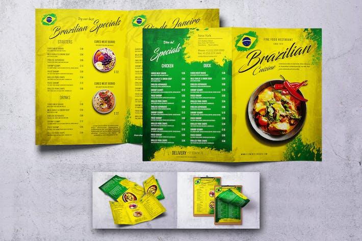 Thumbnail for Brazilian Food Menu Bundle