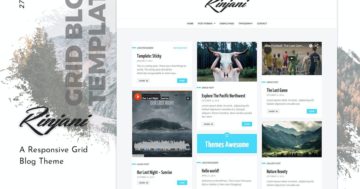 Download Rinjani | Personal Grid Blog WordPress Theme by themesawesome