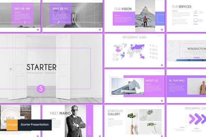 Cover Image For Starter - Google Slides Template