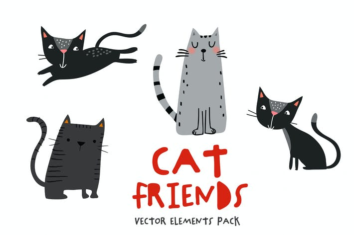 Thumbnail for Cat Friends Pack