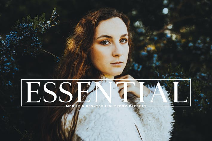 Thumbnail for Essential Mobile & Desktop Lightroom Presets