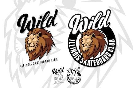Wild - Street Style Lion Mascot Logo