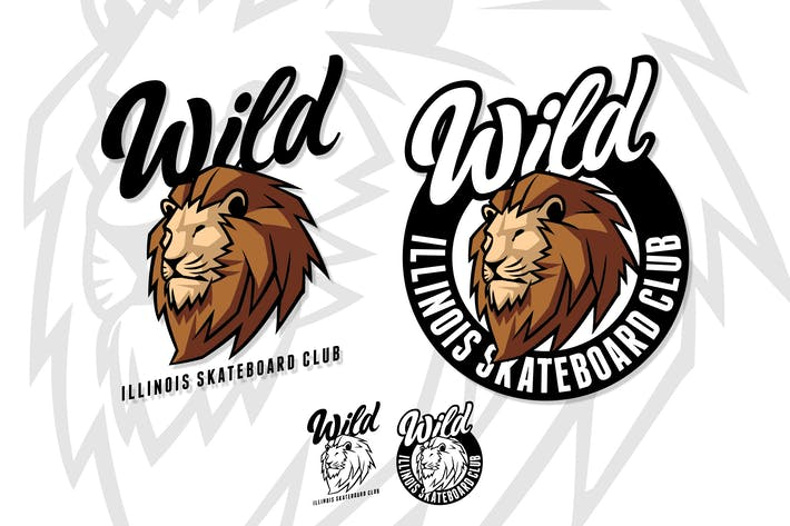 Thumbnail for Wild - Street Style Lion Mascot Logo