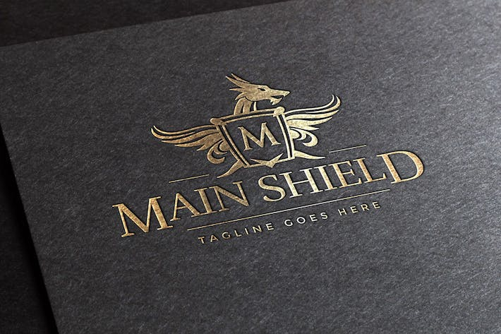 Thumbnail for Main Shield Logo Template