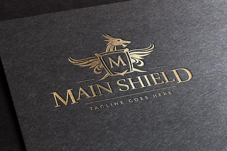 Main Shield Logo Template