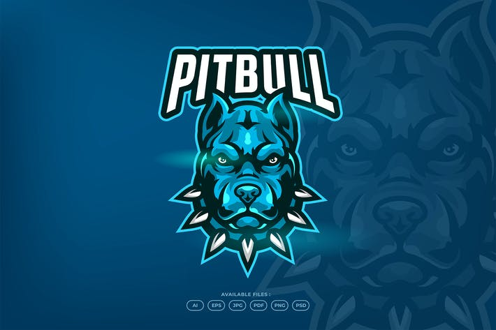 Thumbnail for Angry Strong and Dangerous Pitbull Dog