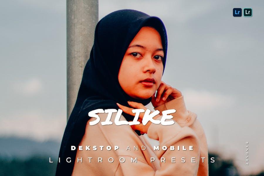 Silike Desktop and Mobile Lightroom Preset
