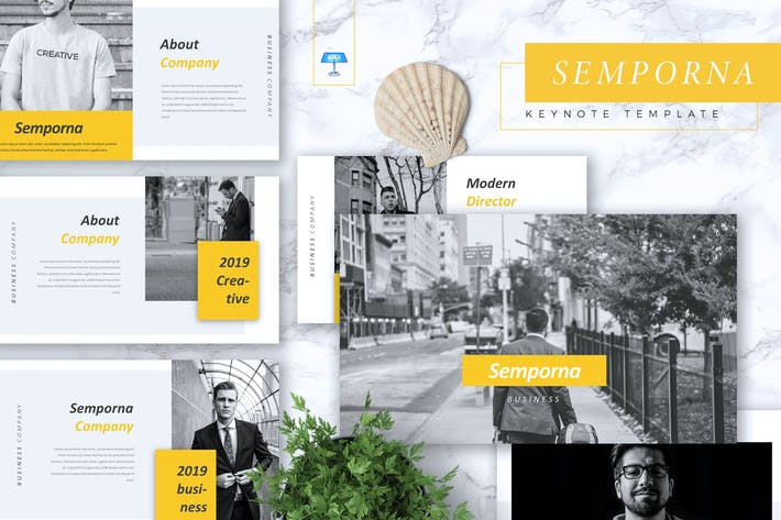 Thumbnail for SEMPORNA - Business Keynote Template