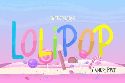 Lolipop | Candy Funny Font