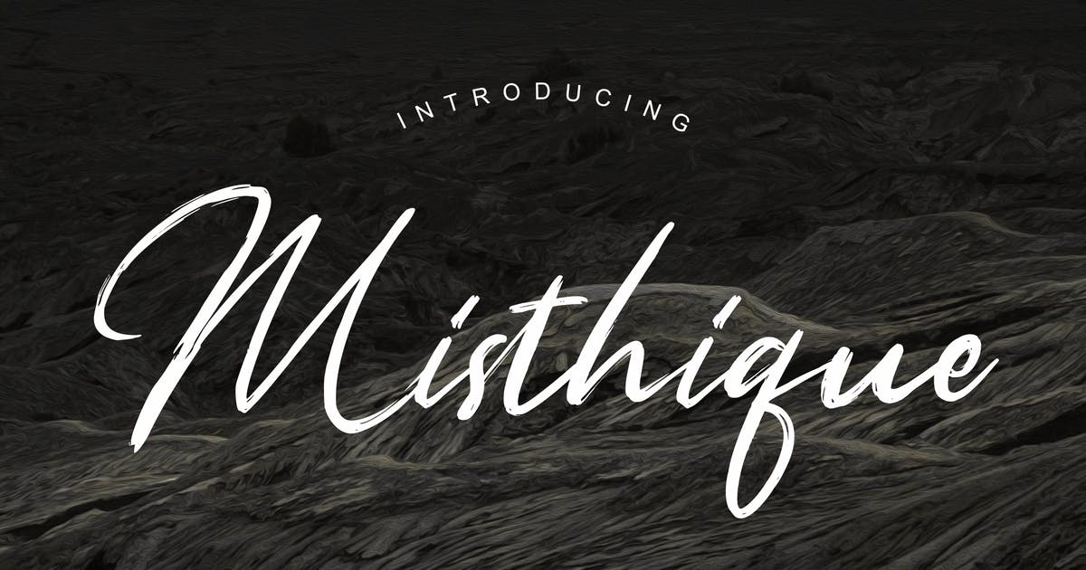 Download Misthique Signature Brush by RahardiCreative