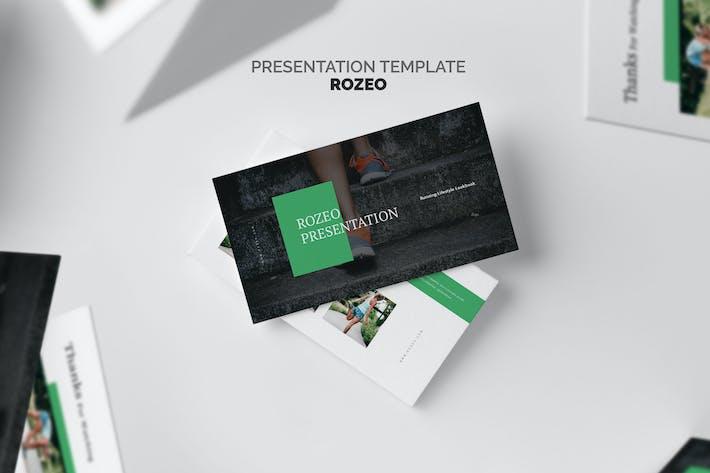 Thumbnail for Rozeo : Running Lifestyle Google Slides