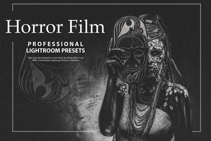 Thumbnail for 33 Horror Film Lightroom Presets