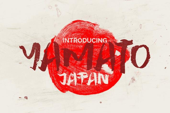 Yamato Japan Font