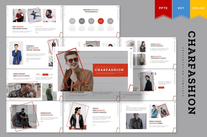 Thumbnail for Charfashion | Presentation Template