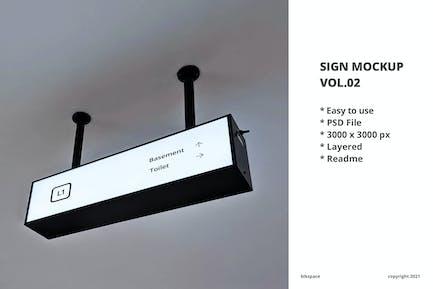 Sign Mockup Vol.02