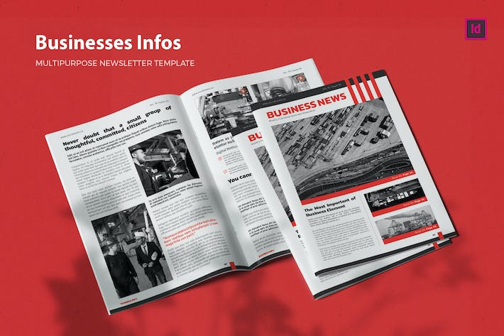 Businesses Infos - Newsletter Template