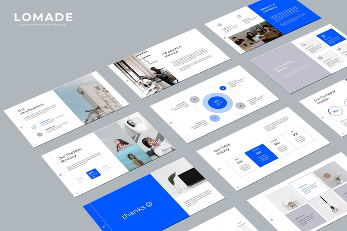 Thumbnail for LOMADE - Keynote Template