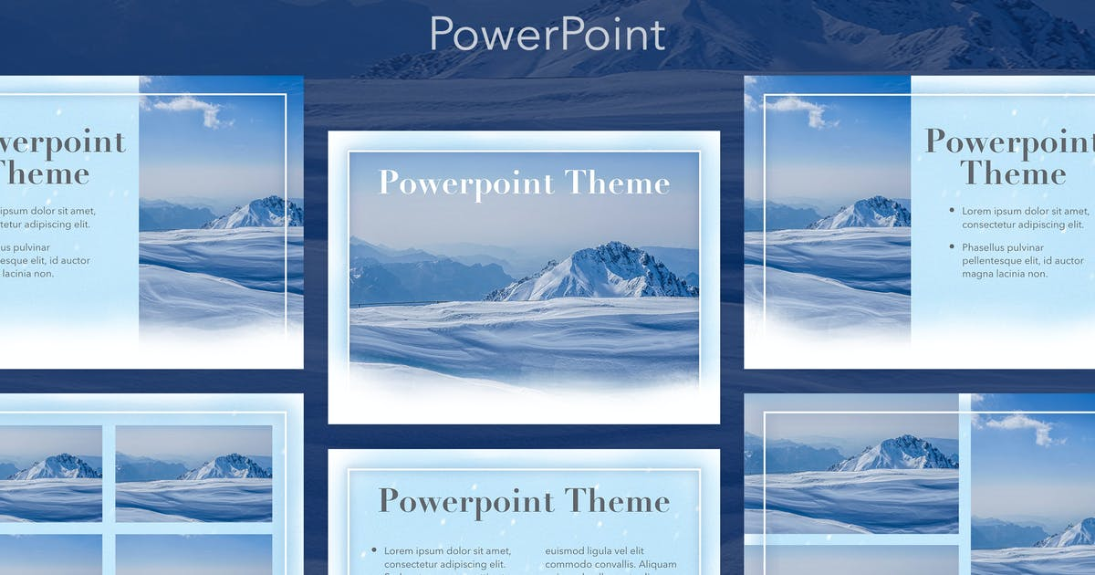 Download Blizzard PowerPoint Template by Jumsoft