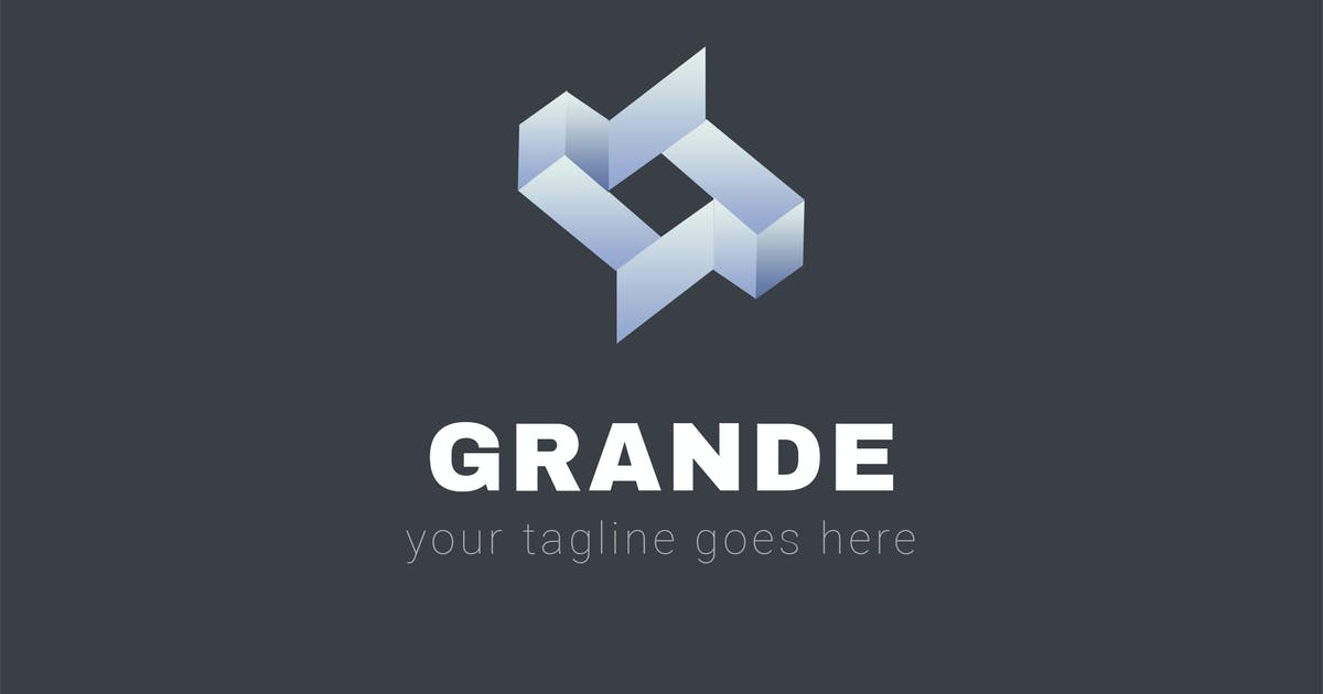 Download Grande - Abstract Logo Template by ThemeWisdom