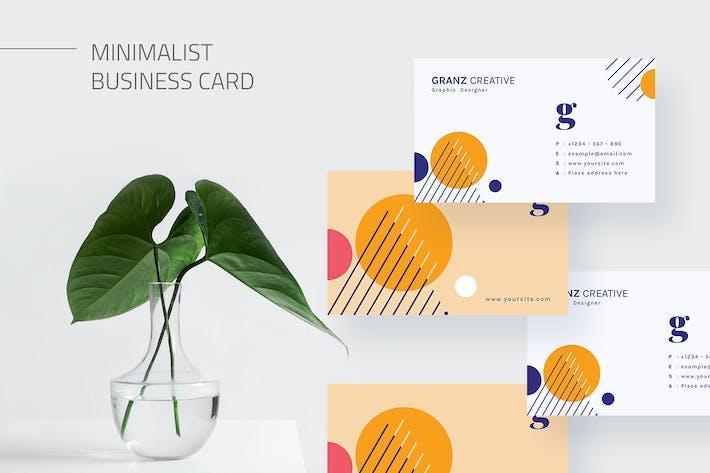Mytemp - Clean Business Card