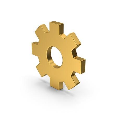 Symbol Settings Gold
