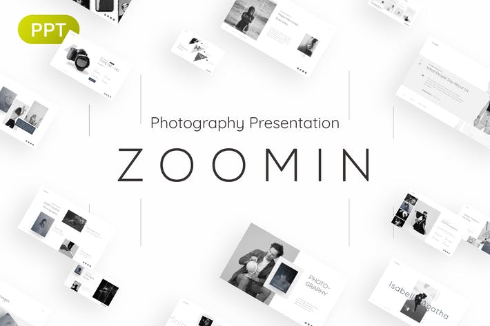 Thumbnail for Zoomin Photography PowerPoint Template