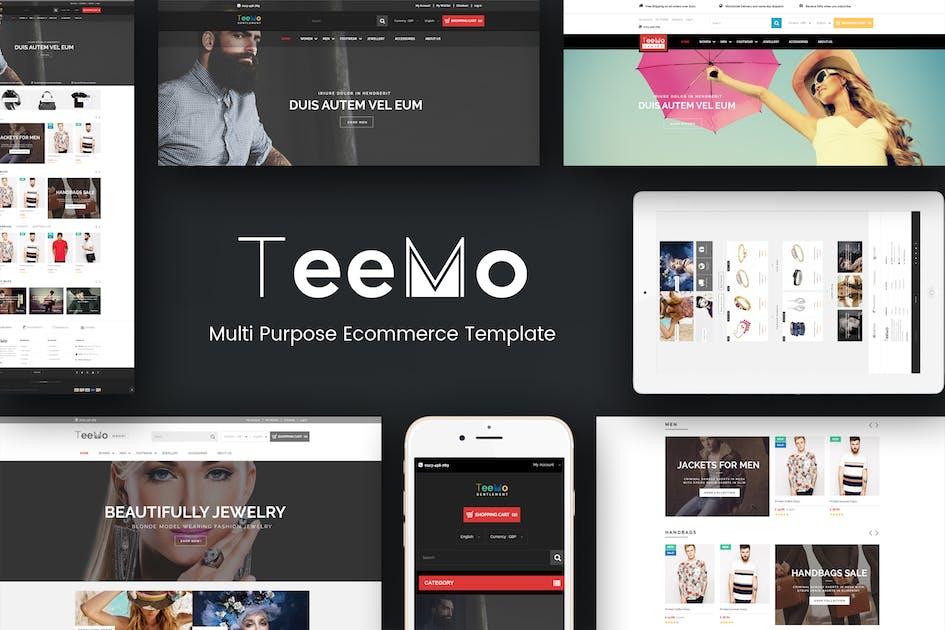 Download Teemo - Multipurpose Responsive Prestashop Theme by posthemes