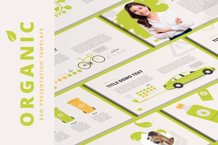Thumbnail for Organic PowerPoint Template