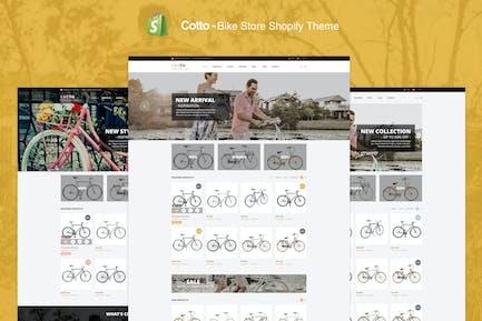 Cotto - Tienda de bicicletas Shopify Tema