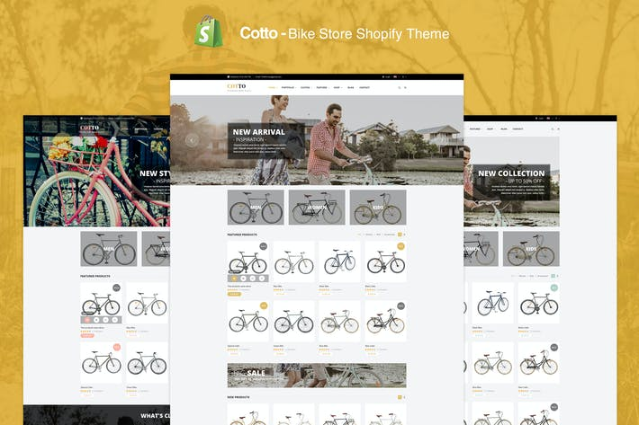 Thumbnail for Cotto - Tienda de bicicletas Shopify Tema