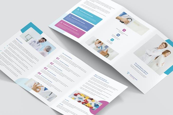 Thumbnail for Brochure – Pharmacy Tri-Fold A5