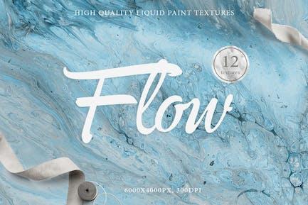 12 Flow Liquid Textures