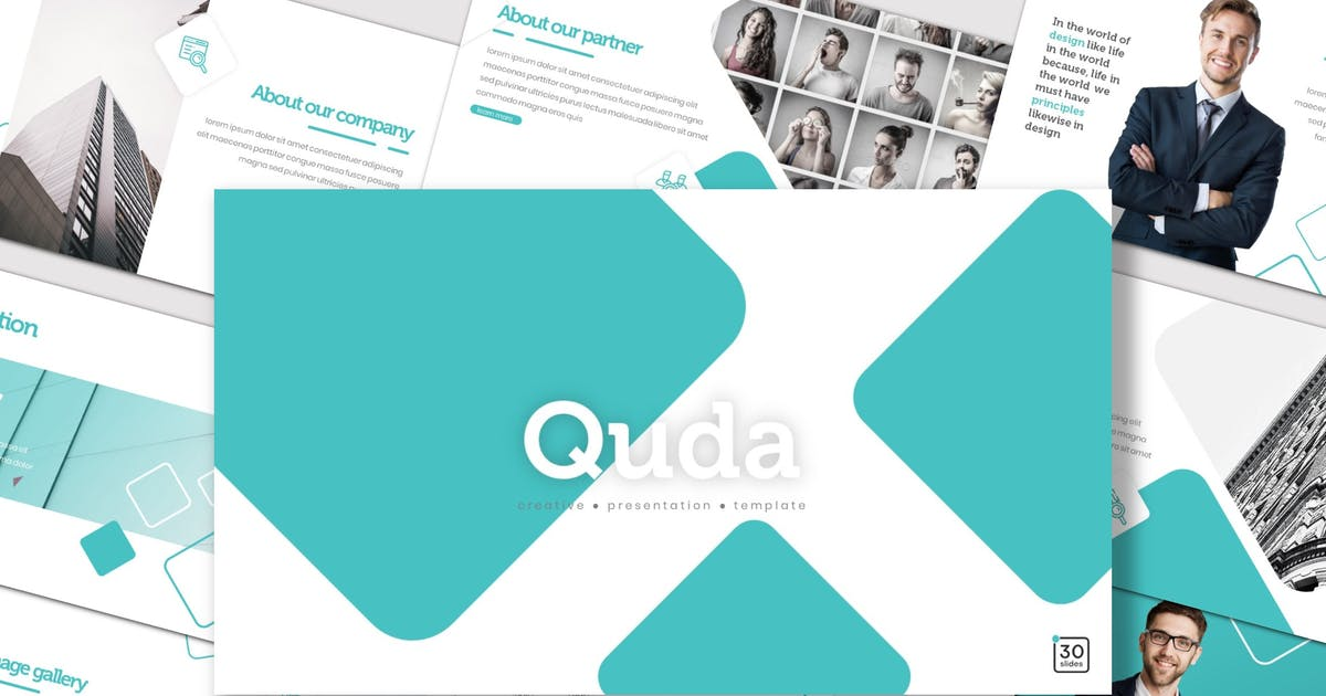 Download Quda - Powerpoint Template by inspirasign