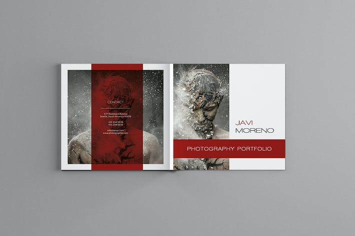 Thumbnail for Pluto - Square Photography Brochure Template