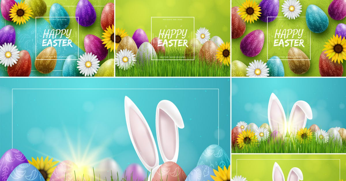 Download Colorful Easter Backgrounds by andrewtimothy