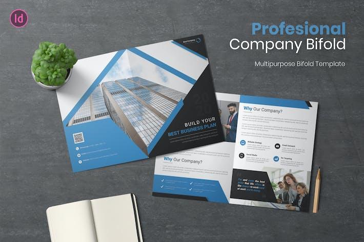 Thumbnail for Profesional Bifold Brochure