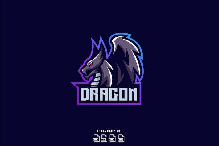 Thumbnail for Dragon E-Sport Logo DesignVorlage