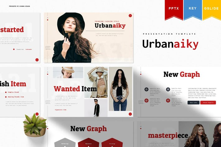Thumbnail for Urbaniky | Powerpoint, Keynote ки, Googleslide