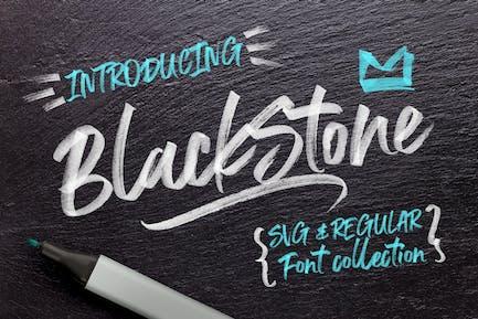 Marcador Piedra Negra + SVG