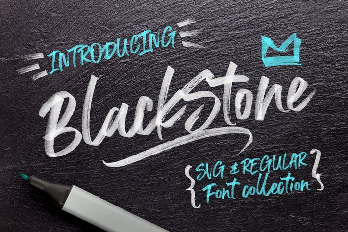 Thumbnail for Black Stone Marker + SVG