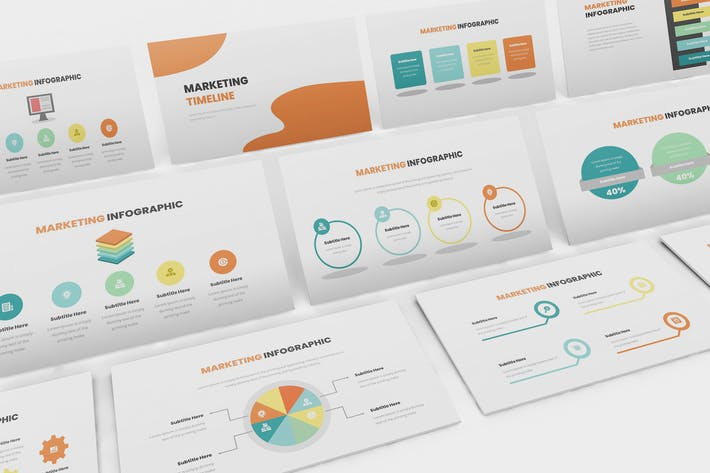 Thumbnail for Marketing Infographic Keynote Template